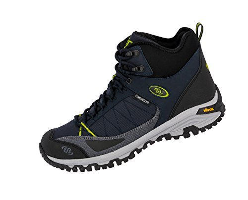 Bruetting Unisex Adults' Castor High Rise Hiking Shoes Blue (Marine/Lemon Marine/Lemon) sNXh4Wy1