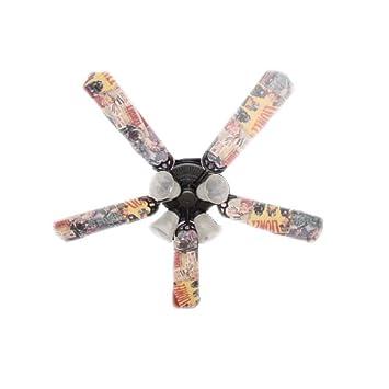 Amazon.com: Ventilador de techo diseñadores Ventilador de ...