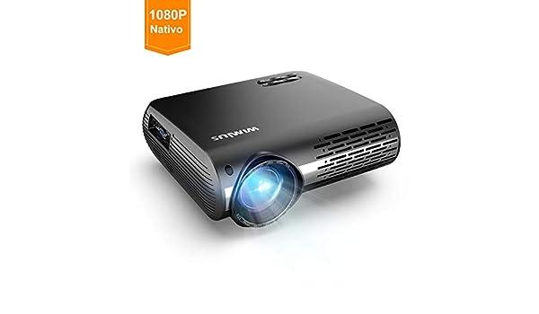 Proyectores, WiMiUS 4500 Lúmenes Proyector Full HD 1920x1080P ...