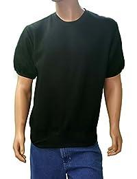 Men's Big and Tall Short Sleeve Sweatshirt