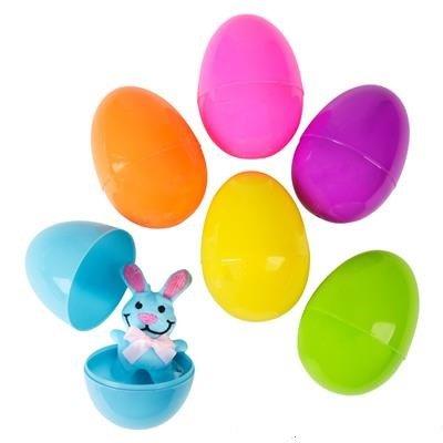 Neliblu Pre Filled Easter Eggs Bulk Pack of 12 Jumbo Plastic