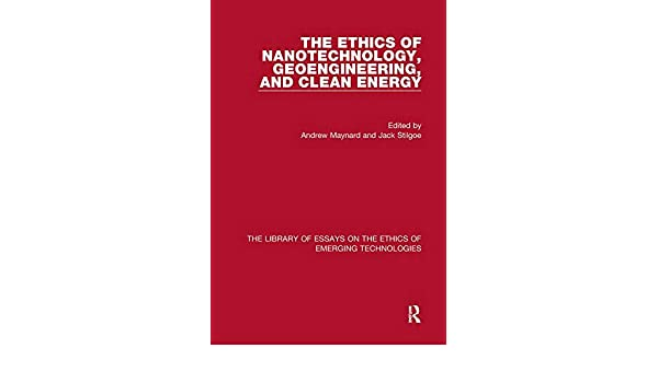ethical legal and social issues of nanotechnology