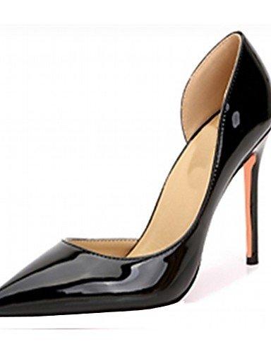 cuero Uk4 5 boda Microfibra Cn37 Ggx Oficina Fiesta Stiletto Patentado Vestido us6 Casual Mujer Eu37 Trabajo 7 5 Golden Noche 5 Zapatos De Y tacón tacones tacones TTqZ4g