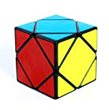 SHENSHOU Rubik's Cube Intelligence Puzzle Slant Rotate Smooth Cube Rubik,Blackedge,5.65.65.6Cm