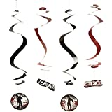 Fun Express Zombie Party Dangling Swirls Set (12 Count)