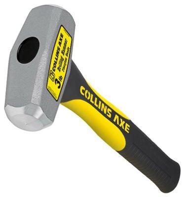 Truper Sa De Cv DHT-3FD-C 3-Lb. Drilling Hammer, 10-In. Fiberglass Handle - Quantity 4