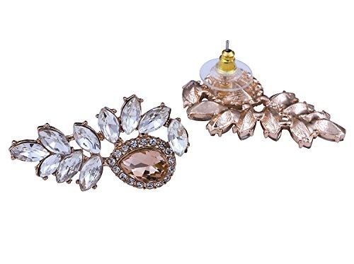 Vijiv Women's 1920s Gatsby Earrings Dangle Deco Jewelry for Party Wedding Prom Dresses by Vijiv (Image #3)