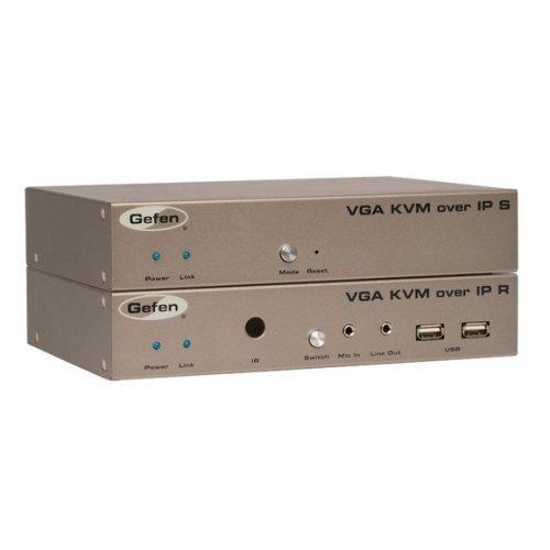 - GEFEN EXT-VGAKVM-LAN / VGA and KVM Extender over IP