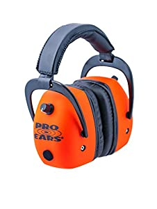 1. Pro Ears - Pro Mag Gold - Electronic Hearing Protection and Amplification - NRR 30 - Shooting Range Ear Muffs