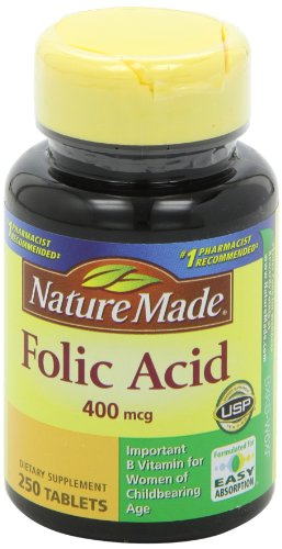 031604012748 - Nature Made Folic Acid 400mcg, 250 Tablets carousel main 5