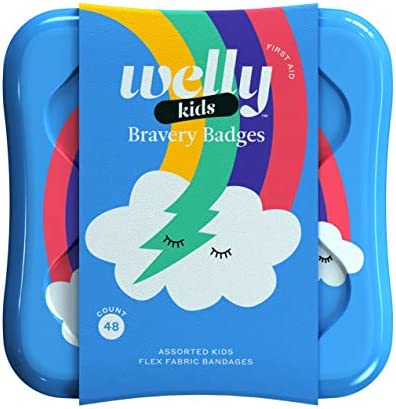 <span style=''>Welly Bandages - Bravery Badges Flexible Fabric Ad..</span>