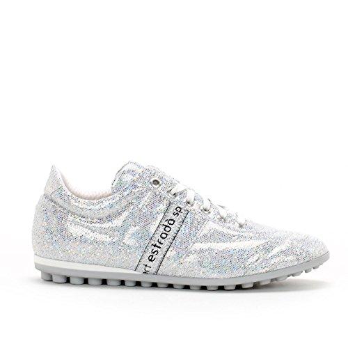 Donna Estrada'sport Scarpe amp;scarpe Sneakers Argento WqxnvXC4
