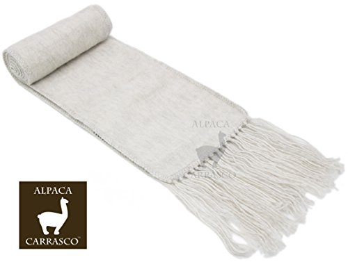 Alpaca Narrow Scarf – Vibrant, Natural Colors, lightweight, soft