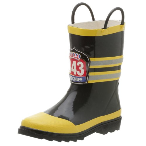 Amazon.com | Western Chief F.D.U.S.A. Rain Boot, Black, 8 M US ...
