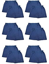 Mens 6 Pack & 12 Pack Fine Cotton Classic Boxers