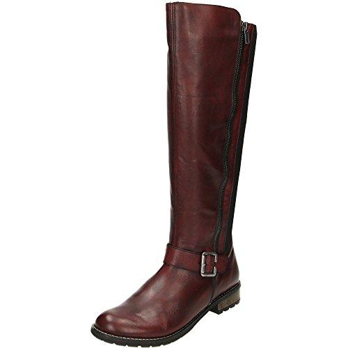Remonte R3358-35, Damen Stiefel & Stiefeletten  rot rot