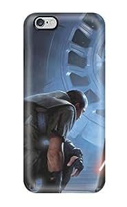 High Grade Matt L Morrow Flexible Hard Case For Iphone 6 Plus - Star Wars Darth Vador