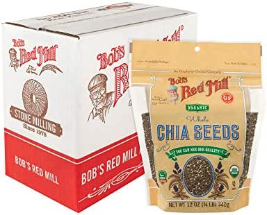 Nuts & Seeds: Bob's Red Mill Organic Chia Seeds