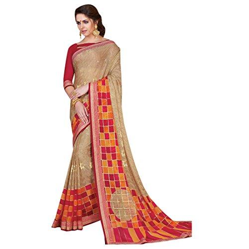 Designer Women Gerogette Dress Indian da Ladies ragazza Traditional Light Blusa ETHNIC for 2694 Designer EMPORIUM Printed Saree Ethnic Casual Sari Wedding wpF5YzIq