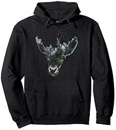 Cool Deer Pullover Hoodie