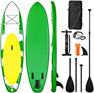 Stand UP Paddle Board Inflatable Paddle Board W Pump 10'6'' * 32'' * 6'' Paddleboa