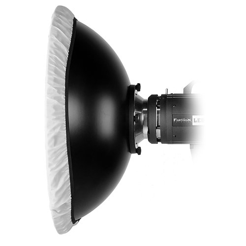 300B Fotodiox Pro Beauty Dish 22 with Honeycomb Grid and Speedring for Calumet Genesis 200 400