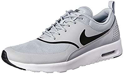 Nike Women?s Air Max Thea Shoes, Wolf Grey/Black, 36 1/2 EU (6 AU)