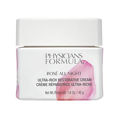 Physicians Formula Rose All Night Ultra-rich Restorative Cream, 1.58 Ounce