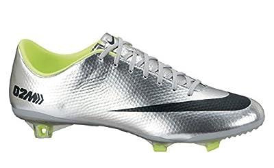 Nike Mercurial Vapor IX FG 555605-007 Silver/Black/Volt Men's Soccer Cleats