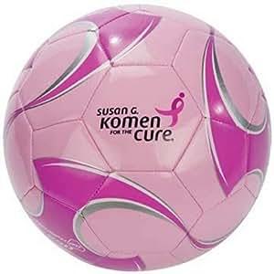 Brine Triumph 250 Soccer Ball - Susan G. Komen - Pink (Pink, 4)