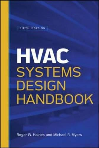 HVAC Systems Design Handbook, Fifth Edition by McGraw-Hill Education