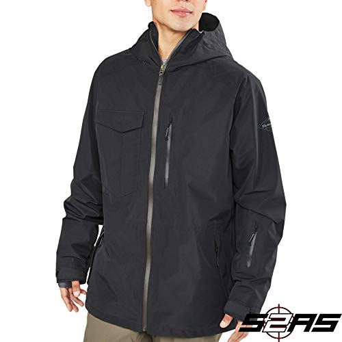 Dakine Men's Smyth Pure Gore-Tex 2l Jacket, Black, 2XL