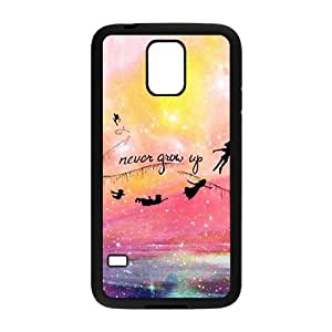 Never Grow Up Cell Phone Case for Samsung Galaxy S5