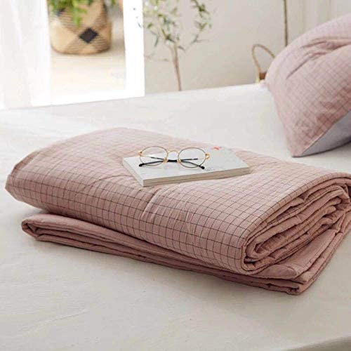 Brownber Muji - Edredón de verano de algodón con diseño de muji, F, 200*230: Amazon.es: Hogar