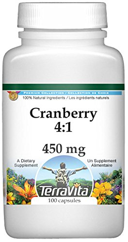 Cranberry 4:1-450 mg (100 Capsules, ZIN: 519894) - 3 Pack