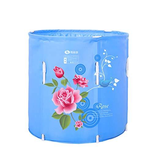 Household Folding Tub Thickened Adult Bath Barrel Quilted Bath Barrel Kids Bath Tub Portable Lift Bath Barrel For Baby