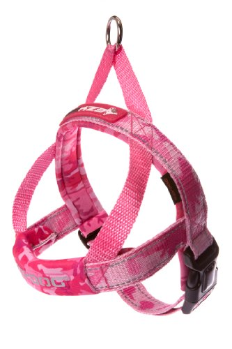 EzyDog Quick Fit Harness Pink Camo Extra Large by EzyDog