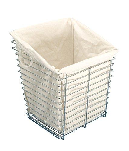 Hafele Laundry Bag Premium Cloth, Cotton, Cream (for Laundry Basket D13 7/16
