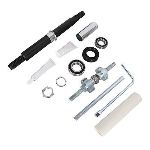 W10435302 Tub Bearing Shaft & Seal Kit and W10447783 Tub Press Tool Kit for Kenmore Maytag Whirlpool Washing Machine Replace 2118925 AP5325033 PS3503261 8545956 W10435274 W10447782 W10435285