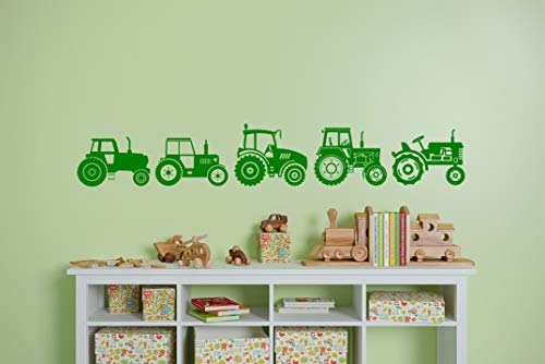 Tractor Parade wall boarder vinyl Decal