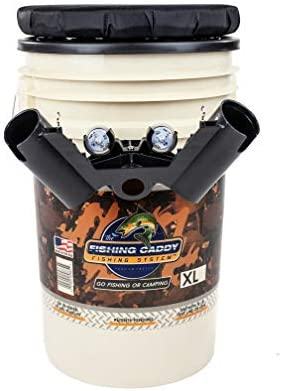 Image result for Fishing Bucket Storage Organizer Kit