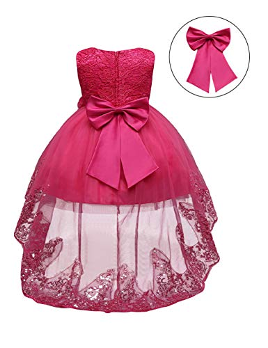 21KIDS Flower Girls Sequin Lace Tulle Dress Kids