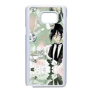 Samsung Galaxy Note 5 Phone Case White Black Butler VKL3074423