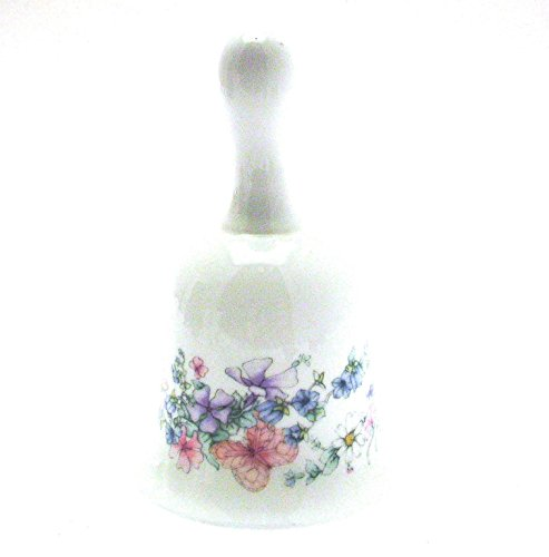 Wedgwood bell shaped trinket - pattern is Angela - A4