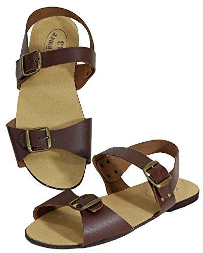Römer DDR Sandals Jesus slip on sandal Brown - BROWN dbQ6sQkG