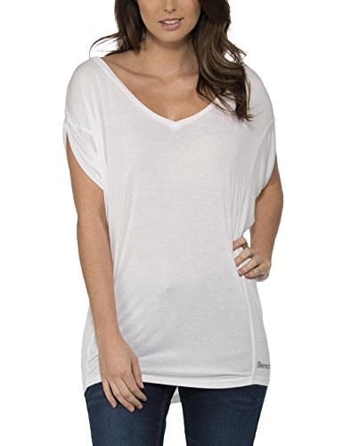 Bench AMPLIZE - Camiseta para Mujer Blanco (Bright White WH001)
