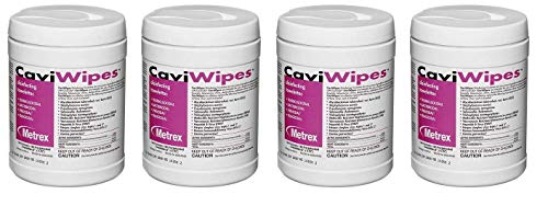 Metrex 13-1100 CaviWipes Disinfecting Towelettes (Pack of 12) (Fоur Paсk) by Metrex (Image #1)
