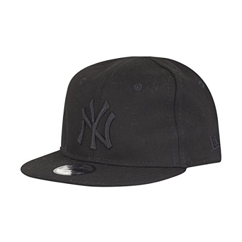99d7febba23 New Era New York Yankees Infant Essential Black On Black 9fifty 950  Snapback Cap Toddler Baby - Buy Online in Oman.