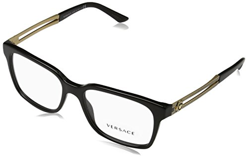 Versace VE3218 Eyeglass Frames GB1-55 - Black - Mens Frames Designer 2017