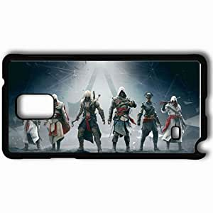 Personalized Samsung Note 4 Cell phone Case/Cover Skin Assassin S Creed Black